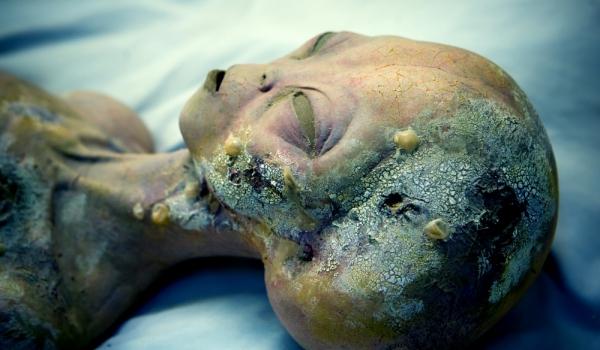 мумия на извънземен