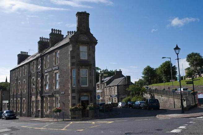 Най-късата улица в света - Ебенезер Плейс, Шотландия