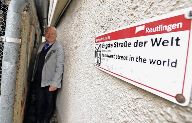 Най-тясната улица в света  Шпройерхофщрасе, Германия
