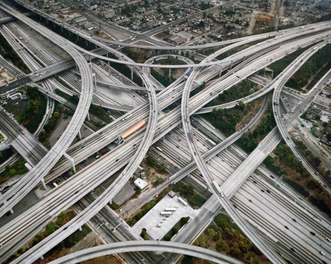 Най-сложното кръстовище в САЩ  Съдия Хари Прегерсън, Лос Анджелис