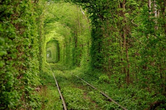 Тунелът на влюбените – Клеван, Украйна