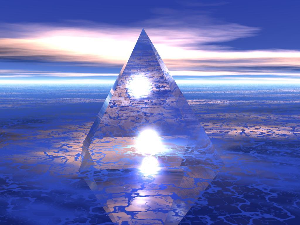 Кристалната пирамида в Бермудския триъгълник (Видео)