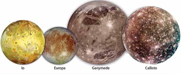 4 луни на юпитер