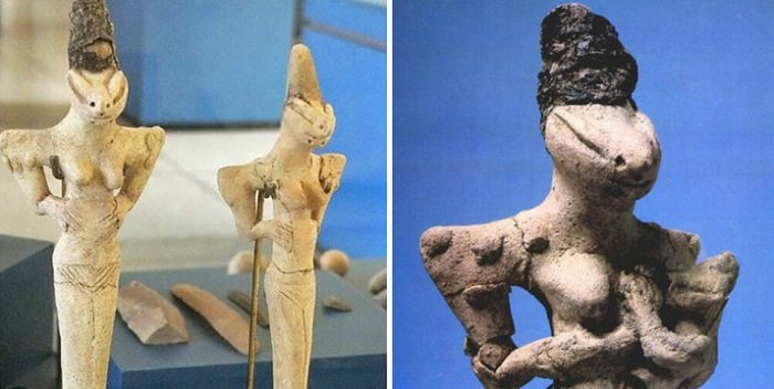 Древни фигури намерени в Ирак говорят за изчезнала раса на Земята