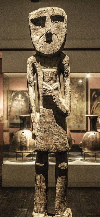 статуя на атлант