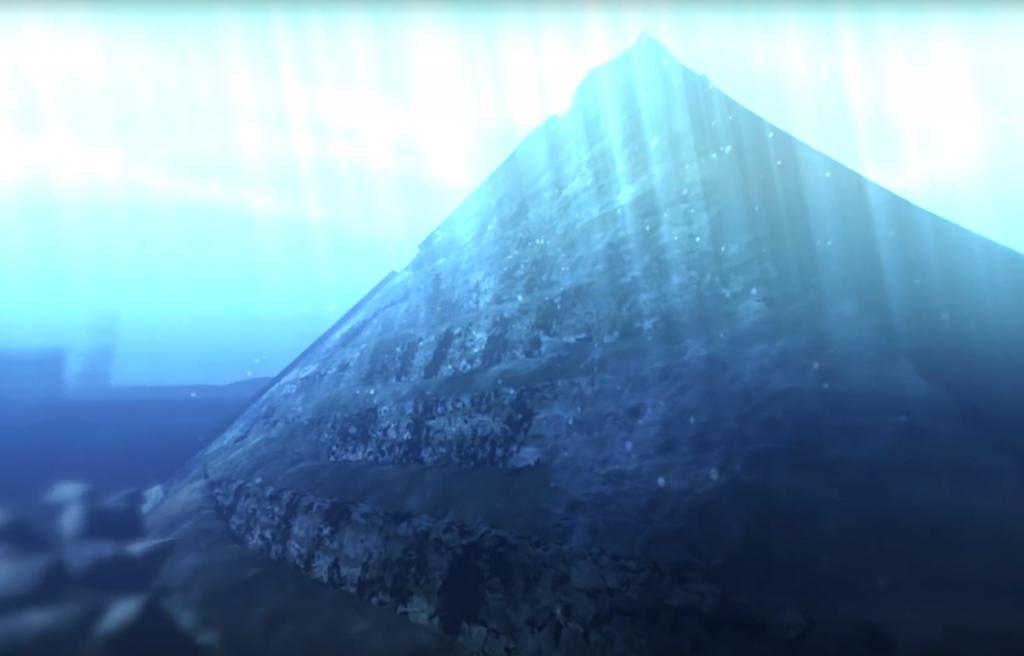 Подводна пирамида в Китай която вероятно е построена преди Великия Потоп
