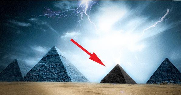 четвърта черна пирамида в гиза