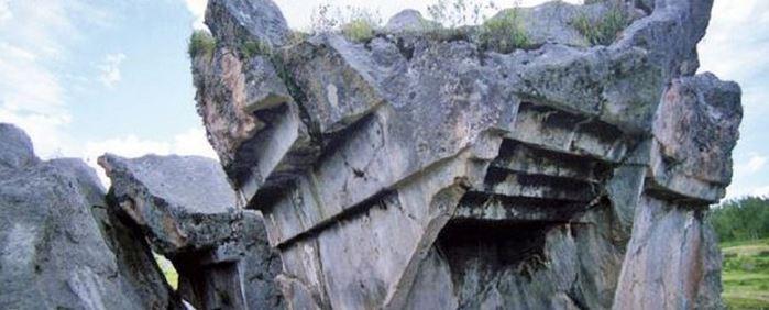 Загадката на обърнатото стълбище в Куско, Перу