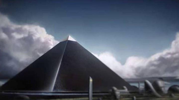 изгубената пирамида