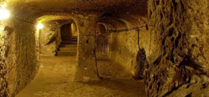 Открити 11 хиляди годиншни масивни тунели свързващи Шотландия и Турция