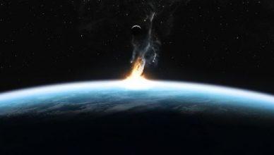 удар със астероид