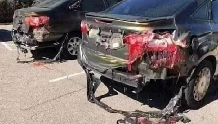 70С жега в Кувейт разтопи автомобилите (видео)
