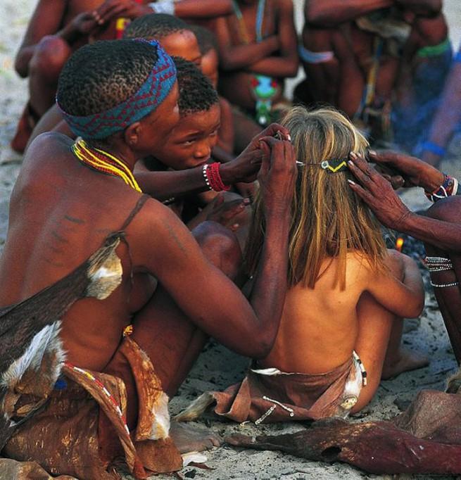 Типи Дегре - необикновеният живот на африканското момиче