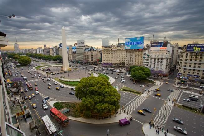 Най-широката улица в света - Авенида 9 де Хулио, Аржентина