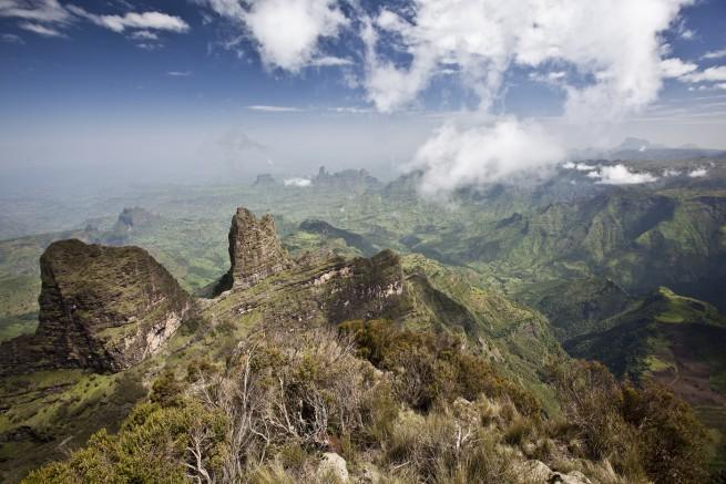 Национален парк Симиен, Етиопия