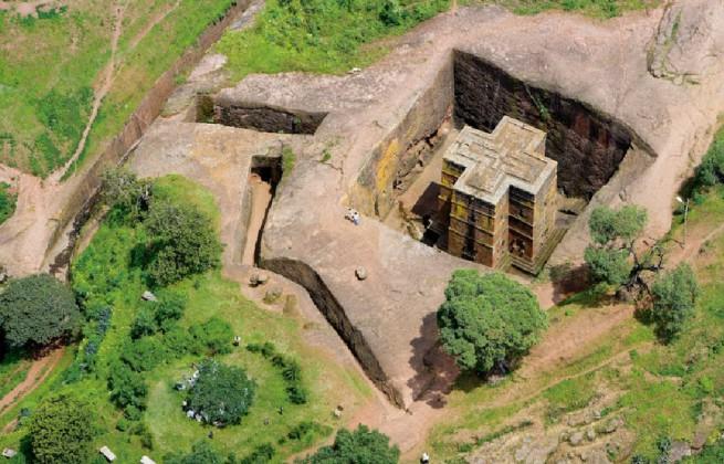 Църквите на Лалибела, Етиопия